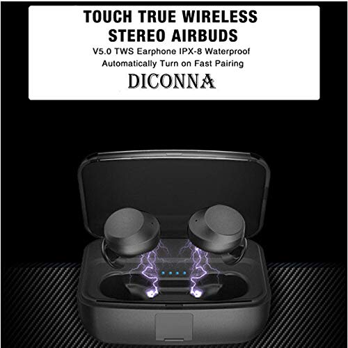 6dd8ef6a9fa 50% OFF on DICONNA True Wireless Waterproof Bluetooth 5.0 Earbuds Twins  Headset Earphone with Stereo