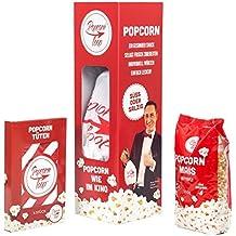 Original Popcornloop Starter Set Besteht Aus: Popcornloop, 500g Mais, 6 Popcorntüten Heimkinoset Auspacken, Loslegen