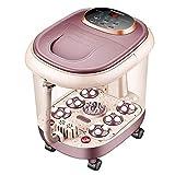 Fußmassagegerät, Shiatsu Knetendes Fußmassagegerät, Vollautomatische Massagemaschine mit Wärme für Zuhause