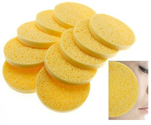 Nuevo 10x Esponjas celulosa Facial Natural esponja