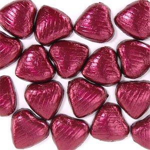 Coeurs chocolat Bordeaux (paquet de 20)