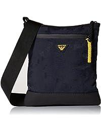 Armani Jeans Tech Uomo Cross Body Bag Nero