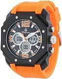 Burgmeister Herren-Armbanduhr Tokio Analog - Digital Quarz Silikon BM901-620A