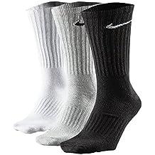 Nike 3 Pares x Hombre para Mujer Unisex algodón Crew Calcetines Deportivos tamaño UK 2 –