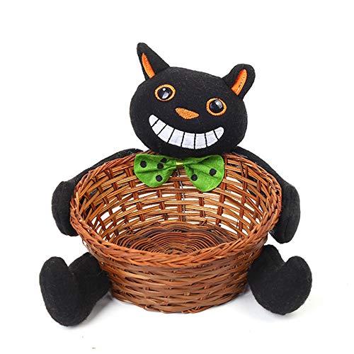APJJ Halloween-Dekoration Candy Basket Party Liefert Home-Office-Desk-Warenkorb,D,S
