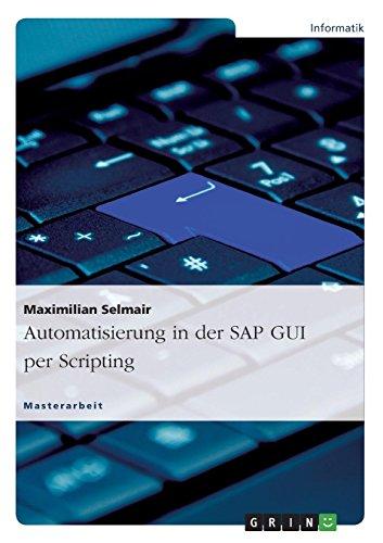 Automatisierung in der SAP GUI per Scripting