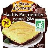 La Cuisine D'océane - Hachis Parmentier Pur Boeuf, Certifié AB - (Prix Par Unité ) - Produit Bio Agrée Par AB