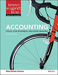 Accounting: Tools for Business Decision Making (111919167X) | Amazon price tracker / tracking, Amazon price history charts, Amazon price watches, Amazon price drop alerts