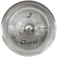 Chang Advance platillos de bajo volumen con efecto de 45,7 cm para batería.