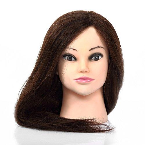 Nouvelle 90% Vrais Perruque Femme cheveux Longue 57cm / envoye le petit bracket (gratuit)