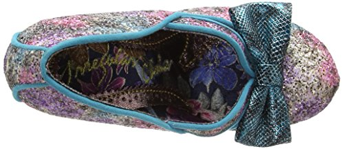 Irregular Choice - Hello Ha, Scarpe col tacco Donna Multicolour (Green/Purple)