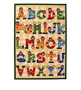 Sevi - Alfombra Alfabeto, 140 x 100 cm (Trudi 60531)