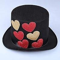 Sunbohljfjh Cantante, Sombrero de Baile, Mago, Alto, Sombrero Superior, Cuello, Cantante Femenina, Rendimiento, Sombrero, 58 * 60 cm