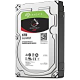Seagate IronWolf 6 TB, ST6000VN0041, interne Festplatte, 8,9 cm (3,5 Zoll), 128 MB Cache, 7200 RPM, SATA 6 Gb/s