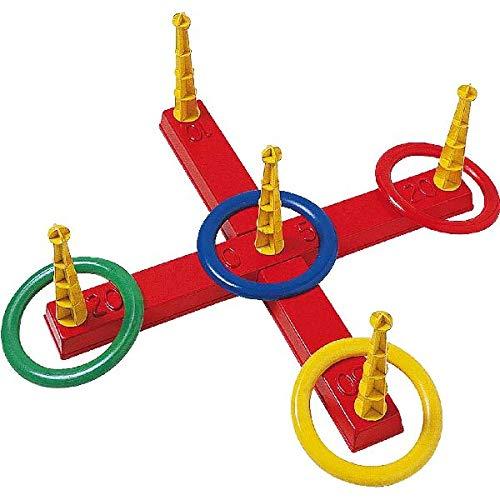 408799 - Ringwurfspiel mit 5 Ringen, ca. 40 cm ()