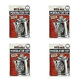 Top 55700 Fitz-All - Percolatore di ricambio, in vetro, da 33 a 3,8 cm