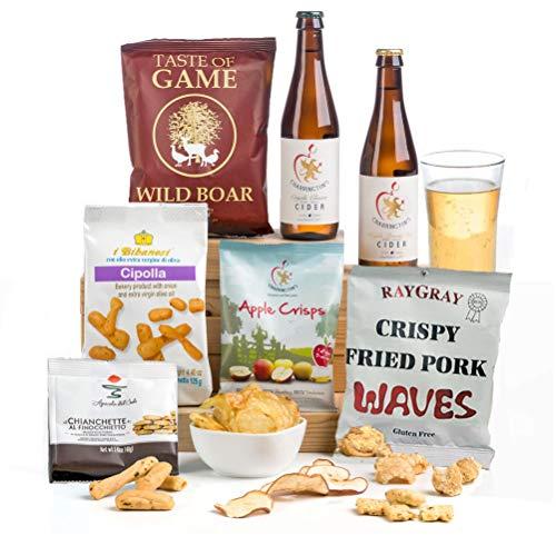 Cider, Pork & Apple Man Hamper Gift Box - FREE UK delivery