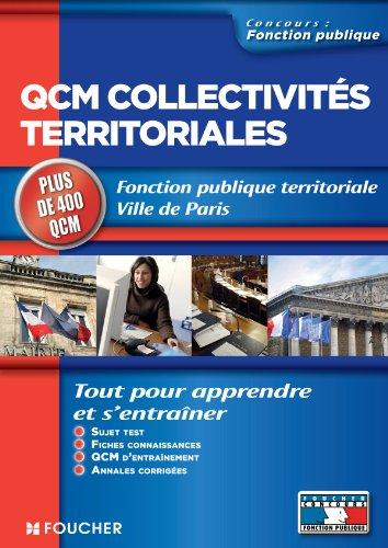 QCM collectivités territoriales par Guy Barussaud, Gérard Terrien