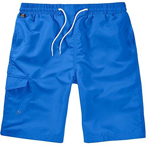 Brandit Uomo Costume da Bagno Blu Taglia S/M