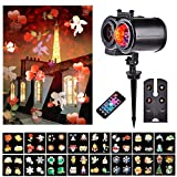 Festival Projector Lights, LTPAG Waterproof LED Landscape Projector Lights with 22 Scene Patterns