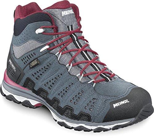 Meindl Schuhe X-SO 70 Lady Mid GTX Surround - türkis/anthrazit Grau/Rot