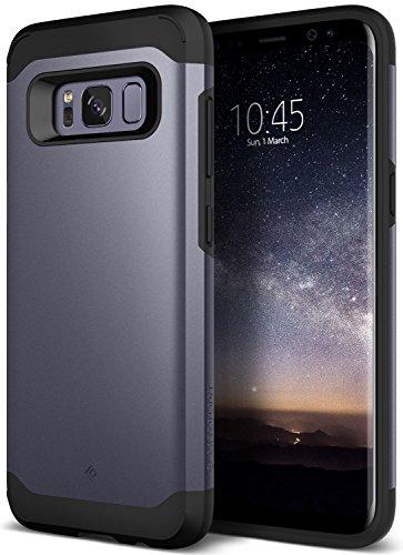 Caseology Funda Galaxy S8 Plus, [Serie Legion] Proteccion Resistente Protector Delgado Robusto y Acorazado de Doble Capa [Orquidea Gris - Orchid Gray] para Samsung Galaxy S8 Plus (2017)