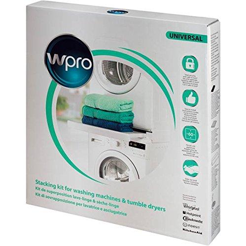 confronta il prezzo Wpro SKS101 Kit di accatastamento per lavatrici e asciugatrici miglior prezzo