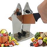 Neue Küche Messerschärfer Professional Küche Messer mit zwei verstellbaren Kanten von Spitzer Stahl für gezahnte und gerade knives-sharpens Dull Messer in seconds-safe und einfach zu verwenden