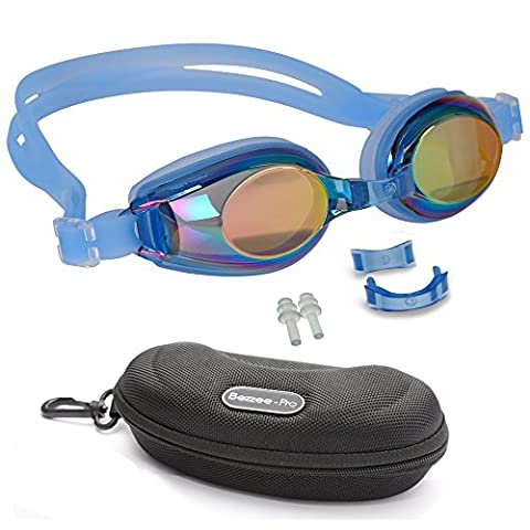 Kid Swimming Goggles with 3 Adjustable Nose
