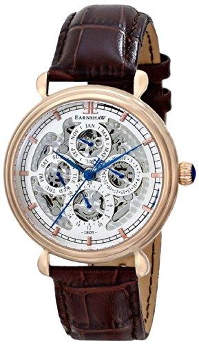 Thomas Earnshaw Men's ES-8043-04 Grand Calendar Automatic Rose Gold-Tone Watch