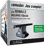 Rameder Pack Barres de Toit SquareBar pour Renault Megane I Classic...