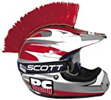 #4: PC Racing Helmet Mohawk - Red PCHMRED