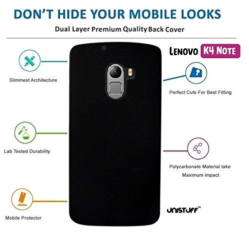 buy popular c654a ddef1 For Lenovo K4 Note[COMBO OFFER]: Unistuff™ Matte Finish Hard Case Back  Cover for Lenovo K4 Note [SLIM FIT][FREE SHIPPING] (Black, Sky Blue)