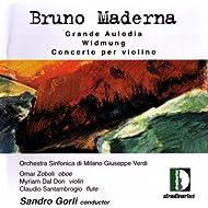 Maderna: Grande Aulodia, Widmung, Concerto Per Violino