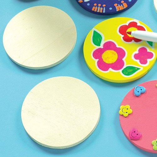quality-wooden-coasters-for-children-to-paint-decorate-personalise-as-gifts-pack-of-10