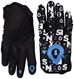 SixSixOne Comp Repeater Gloves Multi-Coloured Black/Cyan Size:X-Large