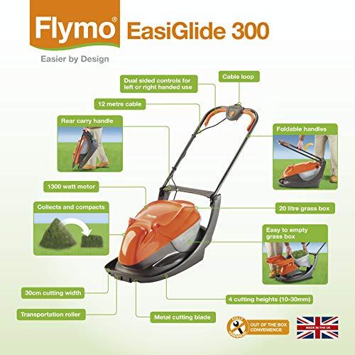Flymo Easiglide 300 Luftkissenmäher im Test - 8