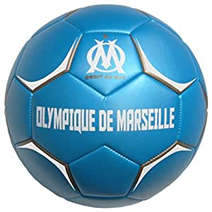 ballon de football om collection officielle olympique de marseille taille 5. Black Bedroom Furniture Sets. Home Design Ideas