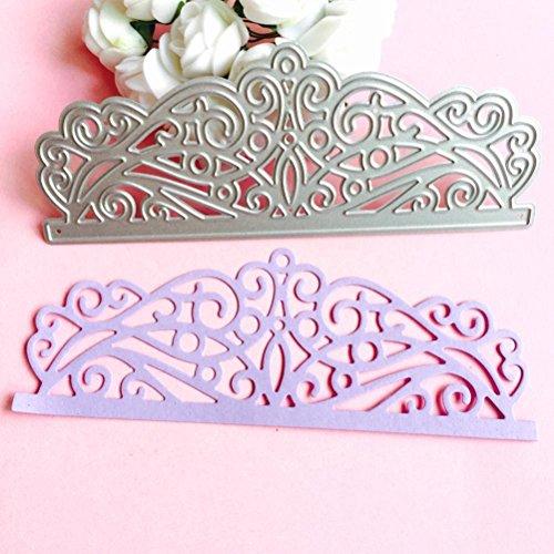 DIY Cutting Dies Various Shapes Metal Die Cutting Dies Stencil For DIY Scrapbooking Album Paper Card Decor Craft Paper Card Art (C)