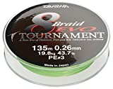 Daiwa Tournament 8 Braid EVO 0.20mm, 18kg/39,7lbs 300m chartreuse