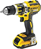 DeWalt DCD795D2 18V XR Brushless Compact Lithium-Ion Combi Drill with 2 x 2Ah Batteries