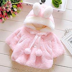 Abrigo de beb con capucha...