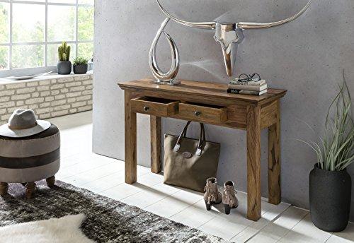 Credenza Per Casa Di Campagna : Wohnling tavolo console legno massiccio sheesham con 2
