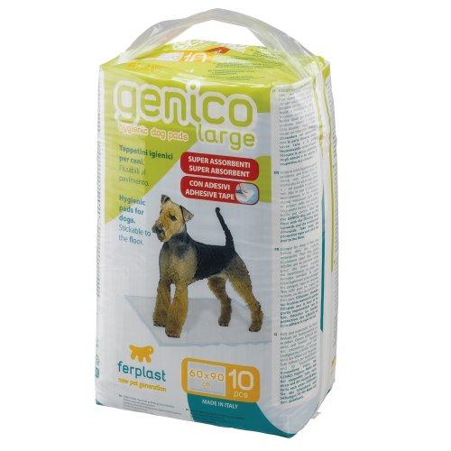 Ferplast 85332811 Genico Large Telo Assorbente per Cani, 10 Pezzi