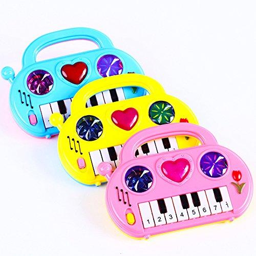 Etbotu Nützliche Populäre Baby Kind Tastatur Klavier Musik Entwicklungsgeschenk Pädagogisches Spielzeug Zufällige Farbe