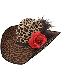 f75a3371f51e0 Charlie 1 Horse Hats Womens On The Prowl Felt Fashion Hat 67 8 Leopard