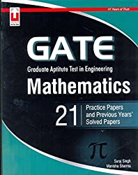 Gate Mathematics 21 Practice Papers And Previous Years' Solved Papers