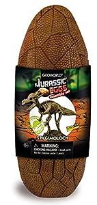 Geoworld Jurassic Eggs CL193K Stygimoloch - Huevo con Esqueleto de Dinosaurio para Montar