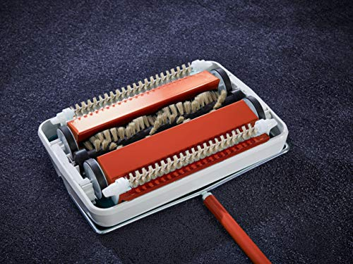 Leifheit Regulus - Rodillo Limpiador para alfombras, Color Rojo