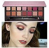Vovotrade 14 Farbe Kosmetik Matte Lidschatten Creme Augen Schatten Make-up Palette Schimmer Set (14 Colors)